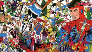 "Keith Giffen logra su zénit en ""Legion Of Super-Heroes"""