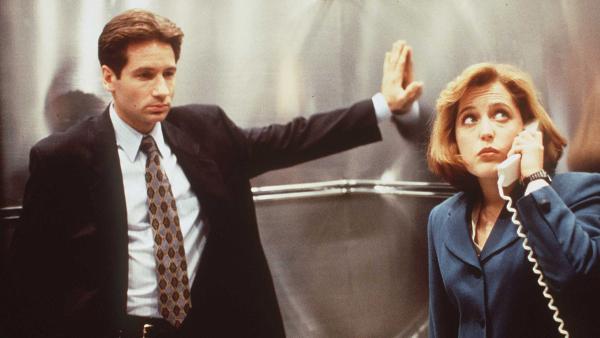 Los viejos Mulder y Scully